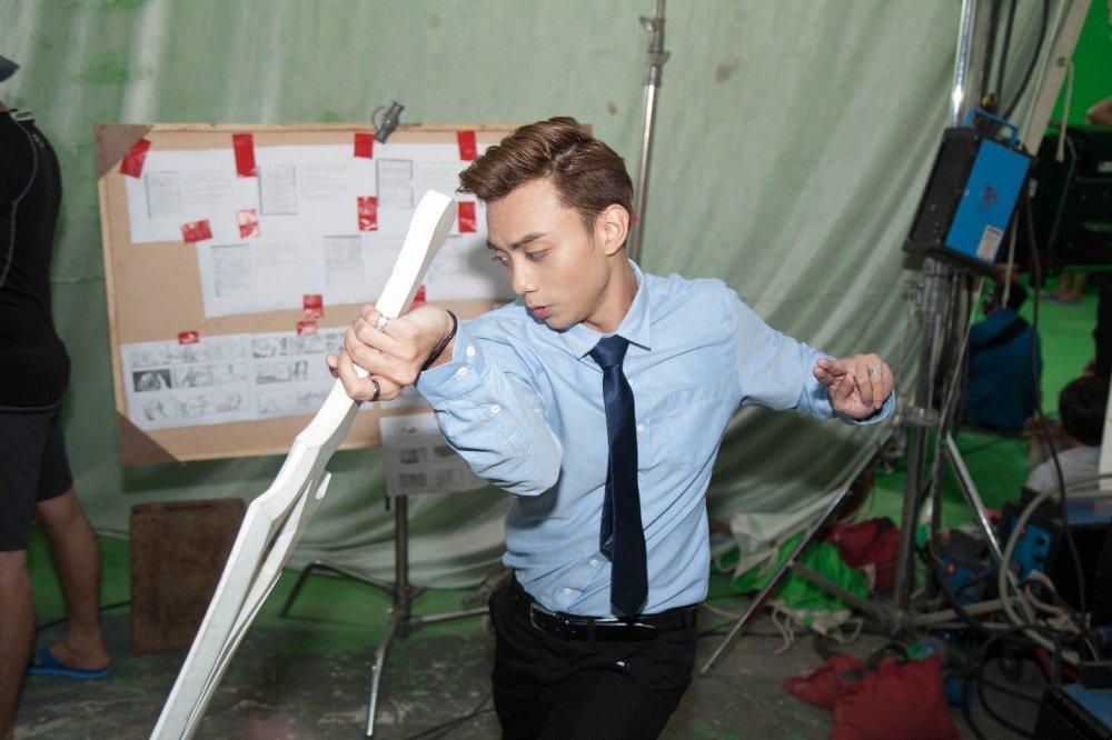 Bao Anh, Soobin Hoang Son hao hung dong phim vo thuat gia tuong hinh anh 2