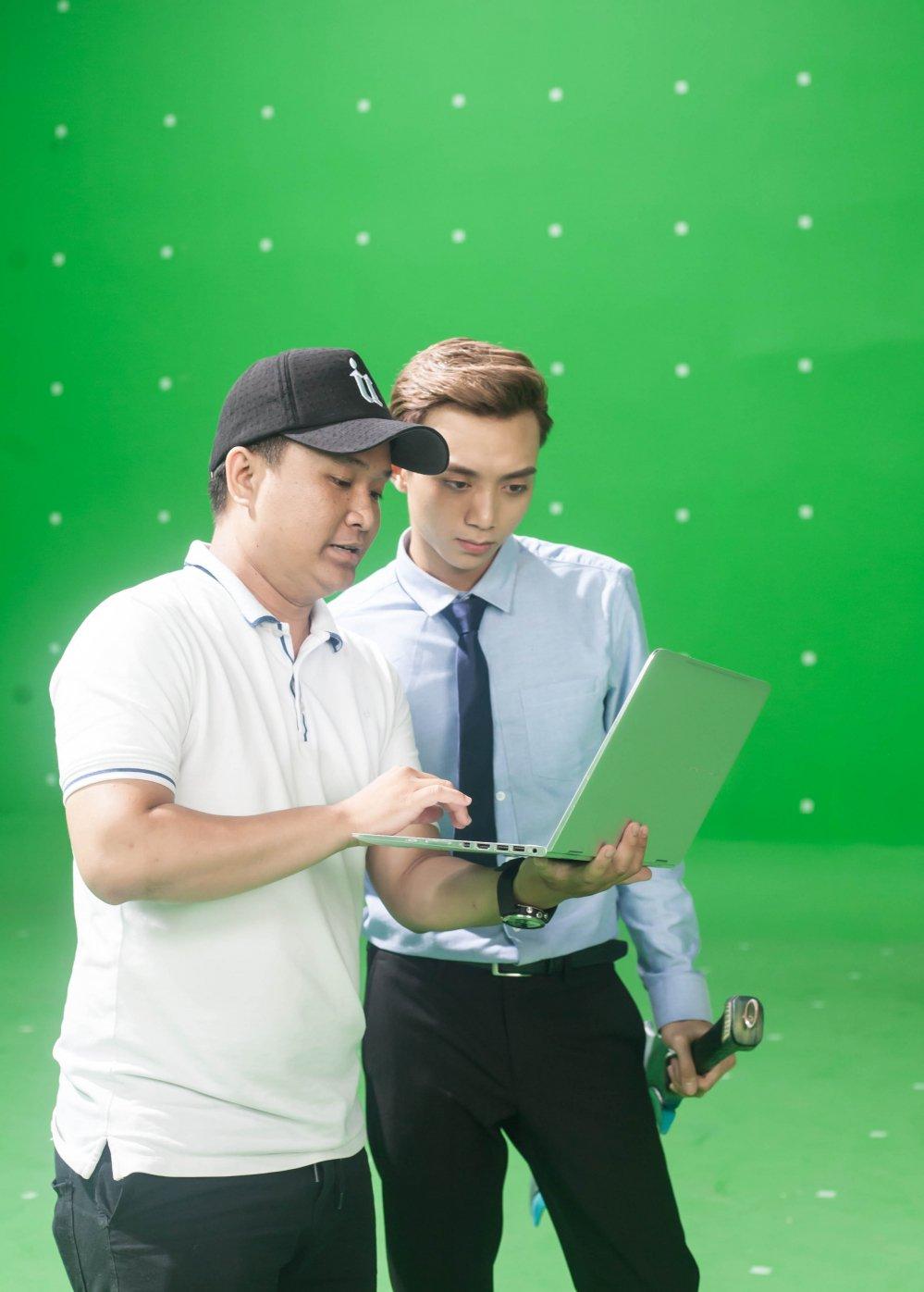 Bao Anh, Soobin Hoang Son hao hung dong phim vo thuat gia tuong hinh anh 3