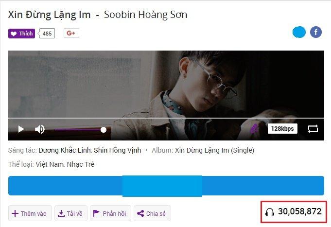 Sau 2 tuan, hit moi cua Soobin Hoang Son dat gan 30 trieu luot nghe hinh anh 2