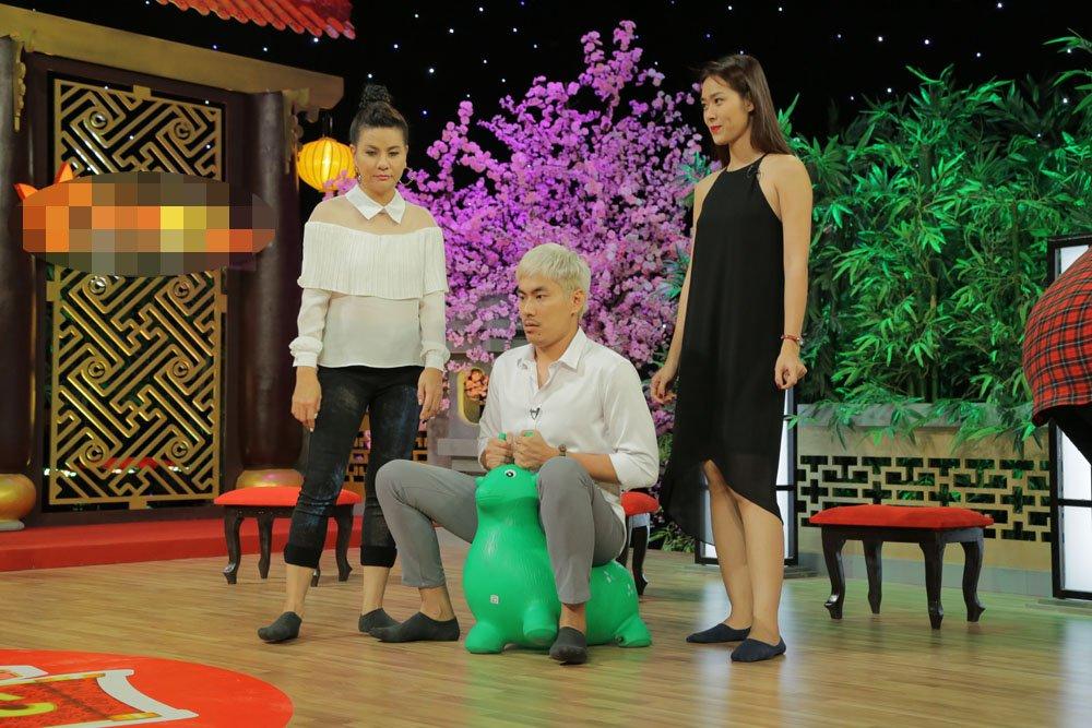 Cat Phuong 'dan mat' Le Giang tren song truyen hinh hinh anh 2