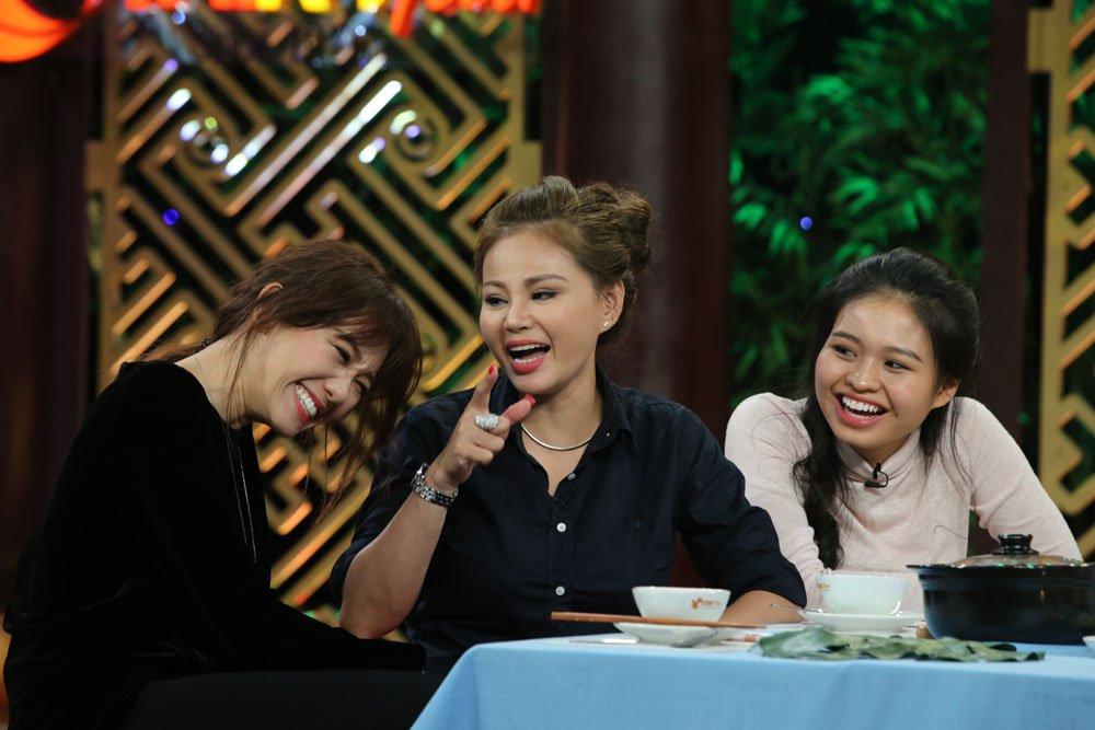 Cat Phuong 'dan mat' Le Giang tren song truyen hinh hinh anh 7