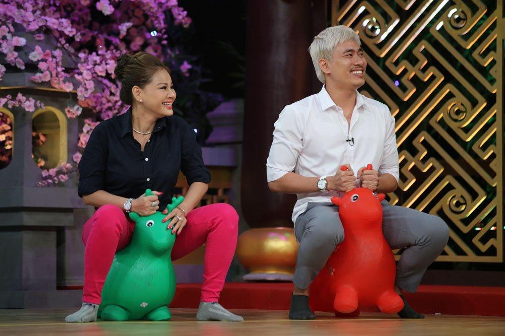 Cat Phuong 'dan mat' Le Giang tren song truyen hinh hinh anh 3