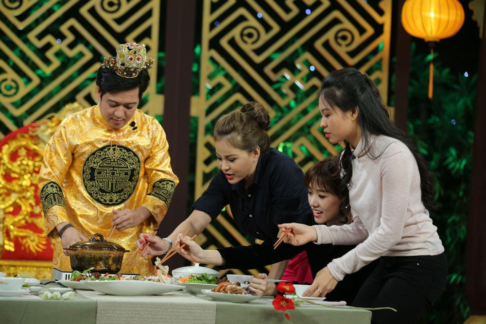 Cat Phuong 'dan mat' Le Giang tren song truyen hinh hinh anh 6