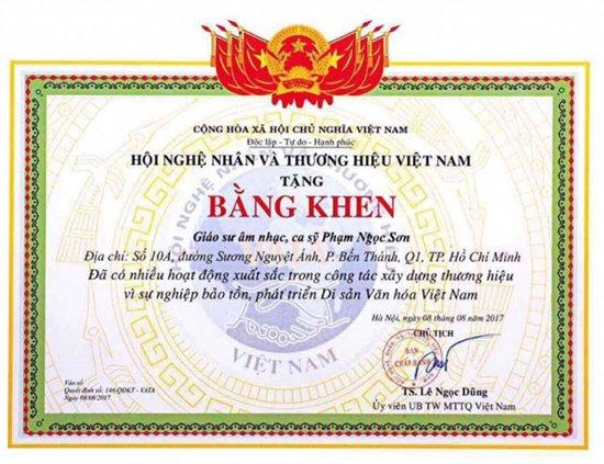 Gay tranh cai khi duoc phong tang 'Giao su am nhac', Ngoc Son chinh thuc len tieng hinh anh 1
