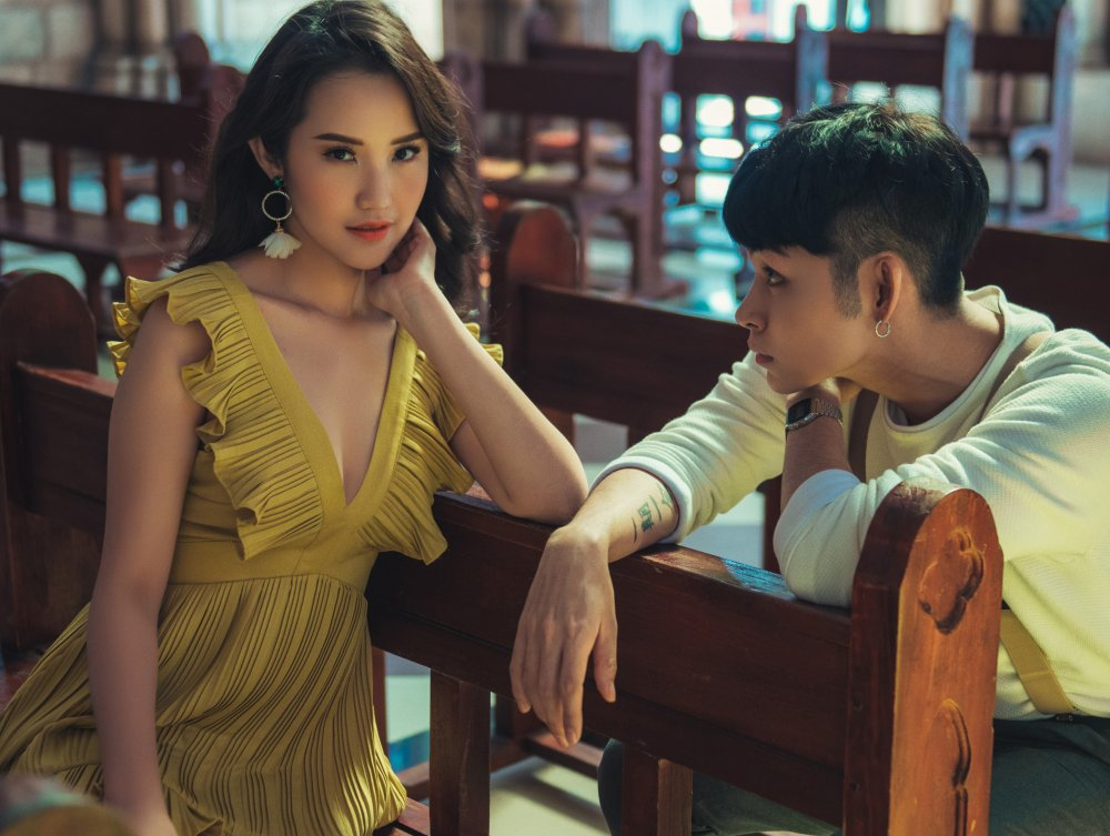 Jun Pham tinh tu cung 'ban gai cu' trong MV moi hinh anh 4