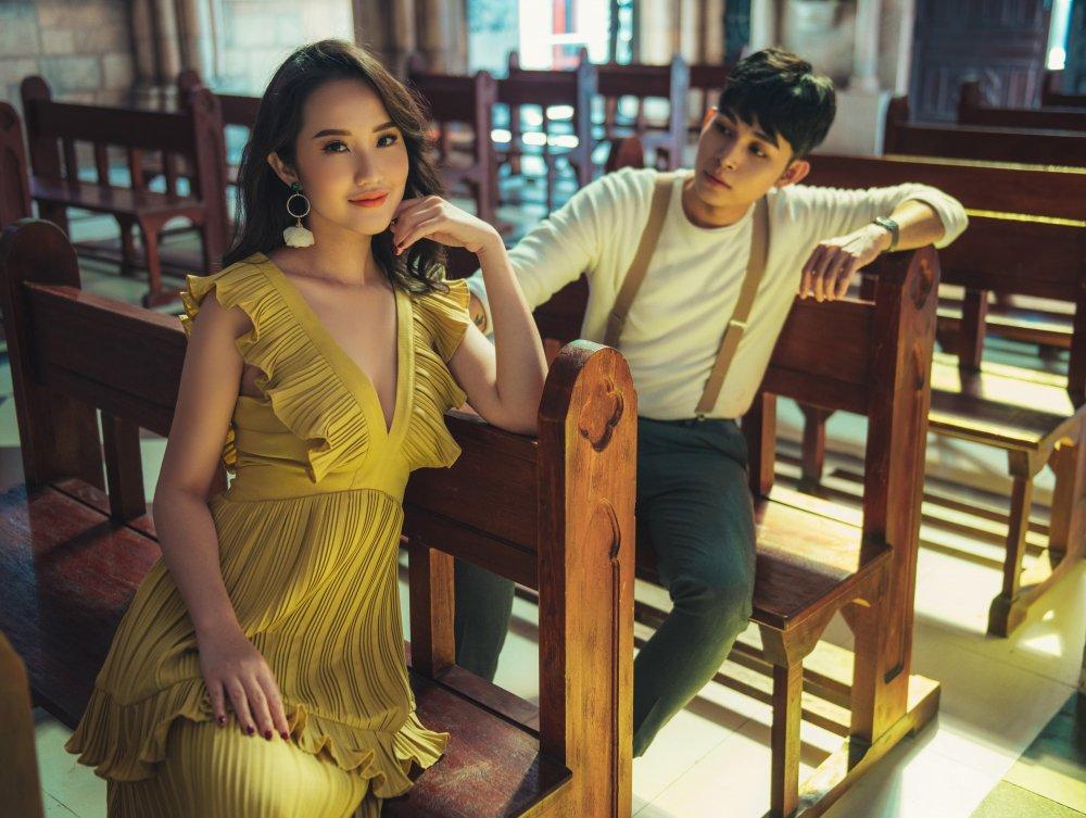 Jun Pham tinh tu cung 'ban gai cu' trong MV moi hinh anh 3