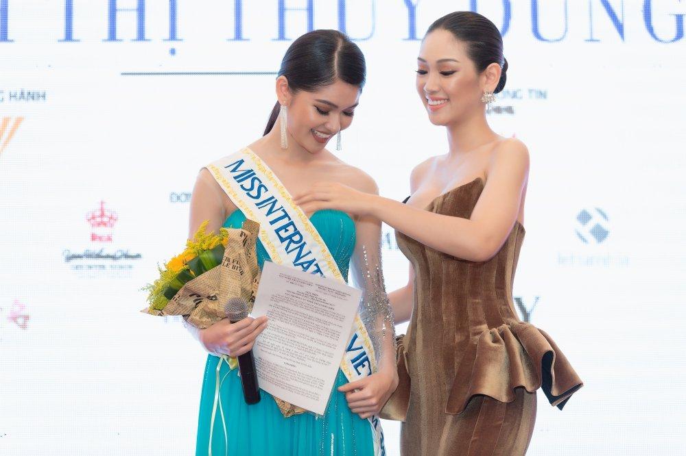 Lan Khue: 'Toi tin va ky vong Thuy Dung se lam nen chuyen tai Hoa hau Quoc te' hinh anh 2