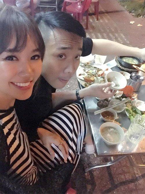 Hari Won - Tran Thanh: Doi vo chong ham an nhat showbiz day roi! hinh anh 7