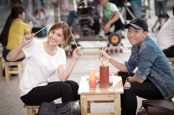 Hari Won - Tran Thanh: Doi vo chong ham an nhat showbiz day roi! hinh anh 5