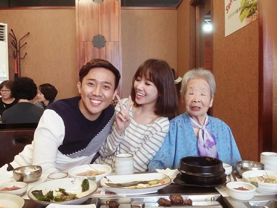 Hari Won - Tran Thanh: Doi vo chong ham an nhat showbiz day roi! hinh anh 4