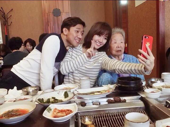 Hari Won - Tran Thanh: Doi vo chong ham an nhat showbiz day roi! hinh anh 3