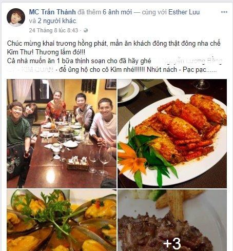 Hari Won - Tran Thanh: Doi vo chong ham an nhat showbiz day roi! hinh anh 12