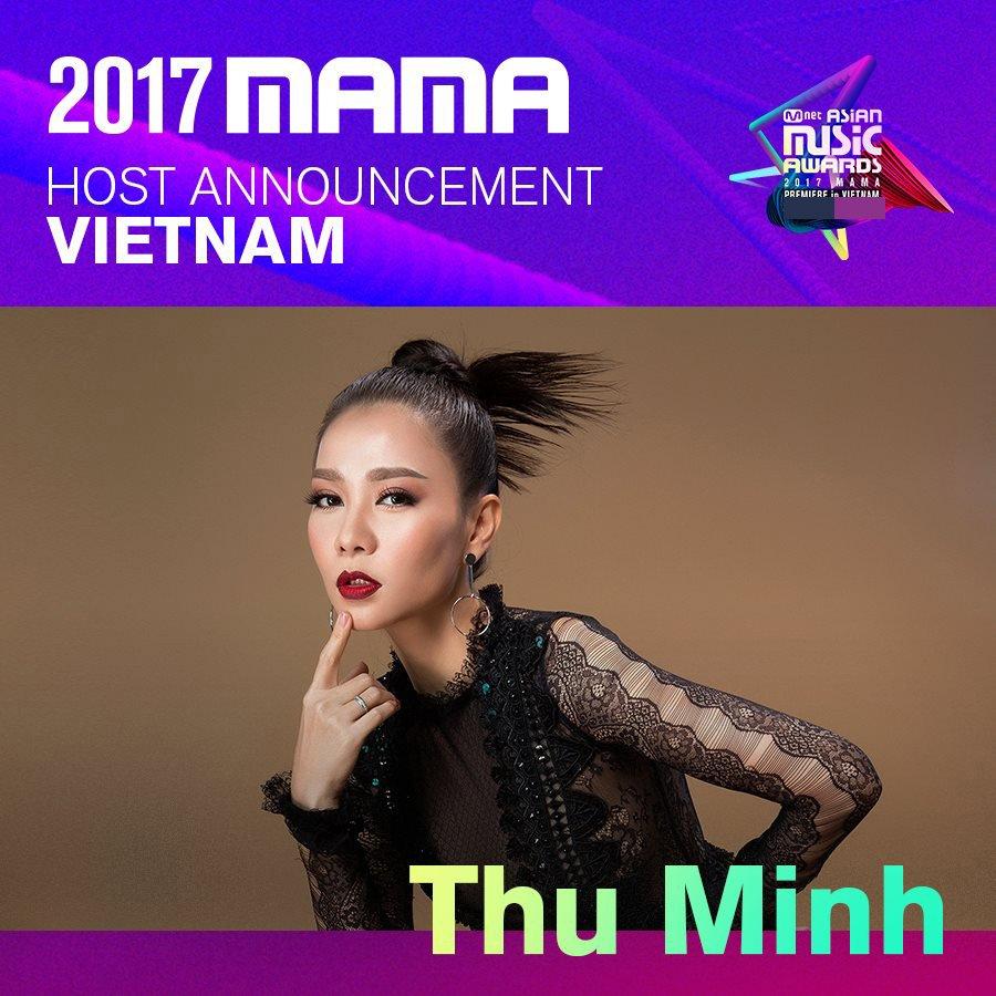 Tu nguoi nhan giai, Thu Minh tro thanh nguoi dan dat 'MAMA 2017' hinh anh 1