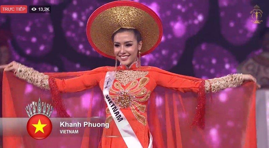 Nguoi dep Han Quoc dang quang Hoa hau Sieu quoc gia, Khanh Phuong dung chan o top 25 hinh anh 5