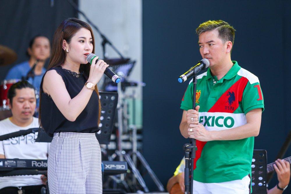 Dam Vinh Hung hoa hon ma trong liveshow cua hoc tro To My hinh anh 2