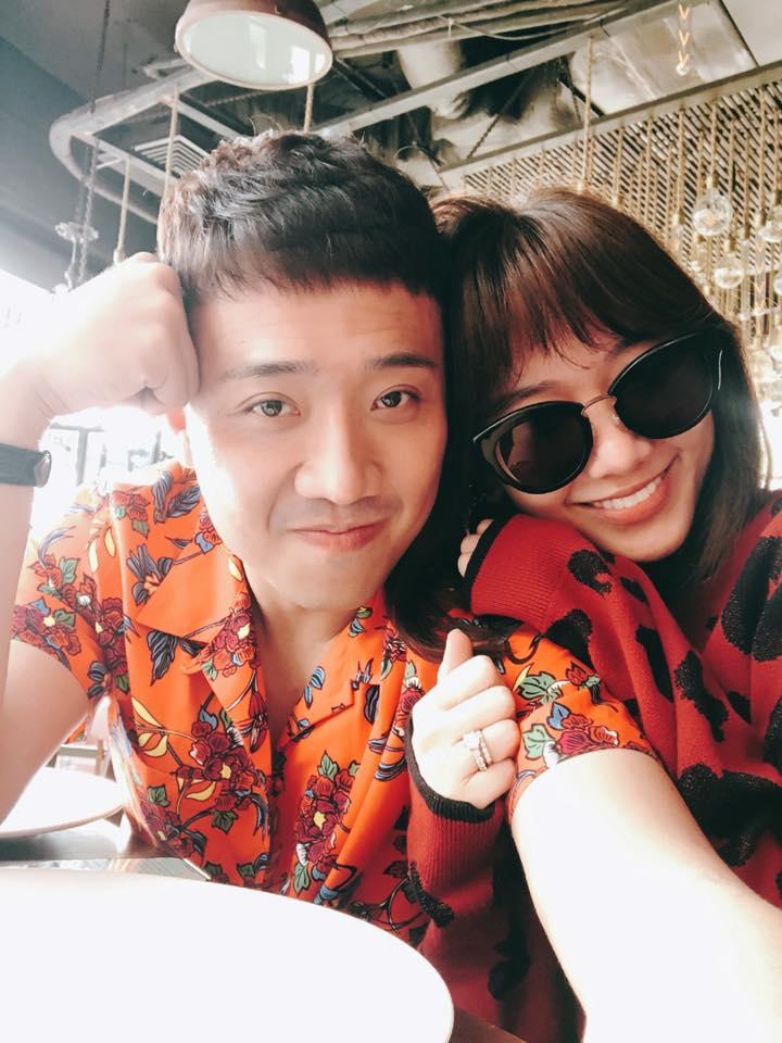 Tran Thanh - Hari Won hanh phuc khoe anh ky niem 700 ngay yeu nhau hinh anh 2
