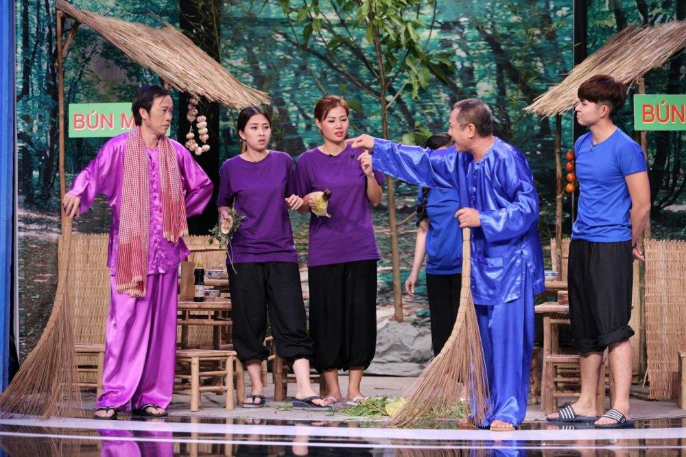 On gioi, cau day roi: Trung Dan – Hoai Linh tro thanh oan gia, lap doi 'do chan dai' hinh anh 1