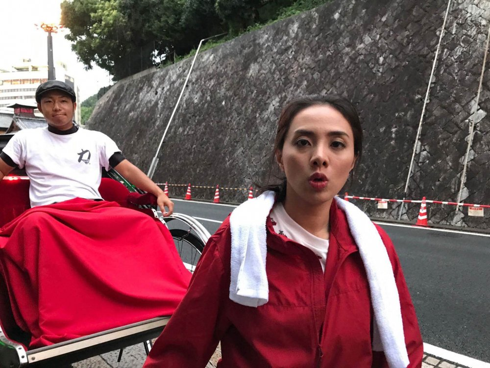 Tham gia 'Phieu luu cung Gulliver!', Miko Lan Trinh phan khich khi duoc trai nghiem nuoc Nhat hinh anh 4