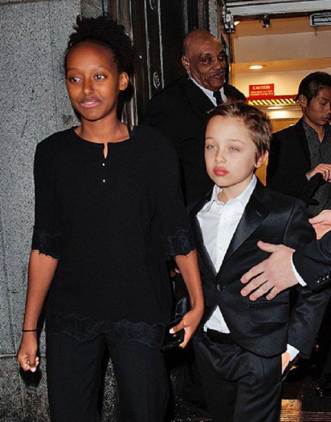Pax Thien an can diu Angelina Jolie o su kien hinh anh 6