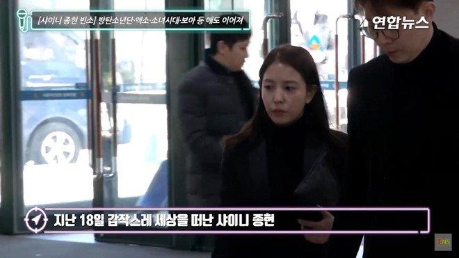 Dan sao Han dau buon den vieng Jong Hyun (SHINee) hinh anh 2