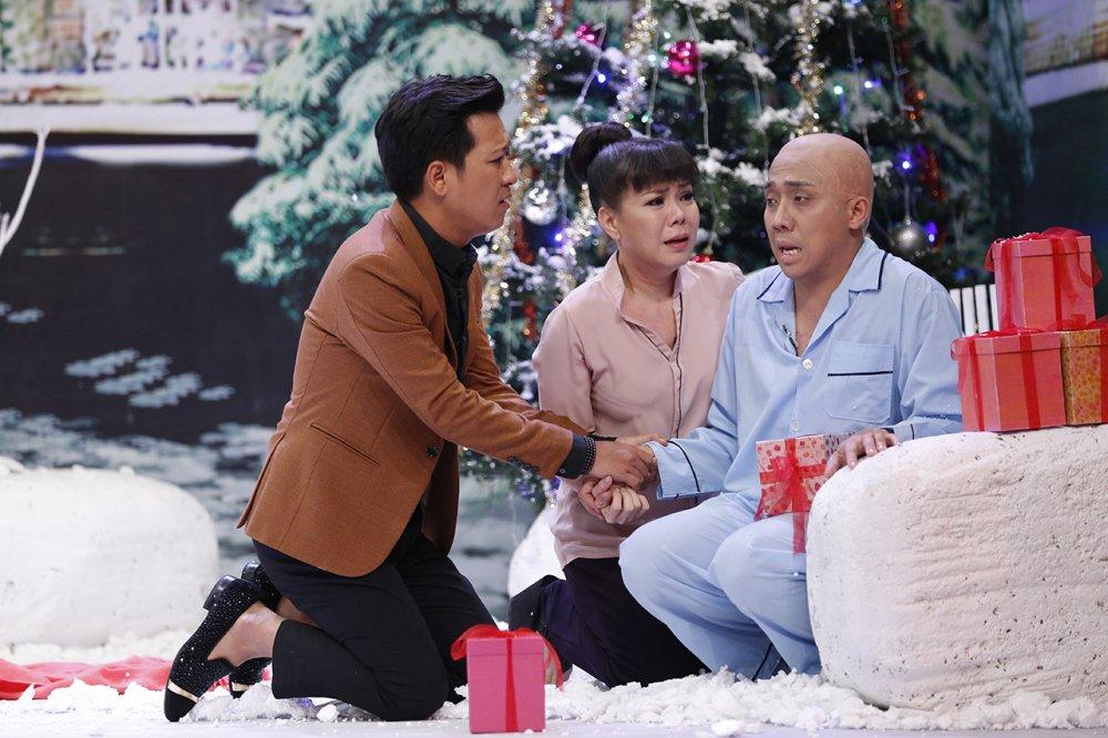 Tran Thanh, Viet Huong bat khoc vi Truong Giang hinh anh 2