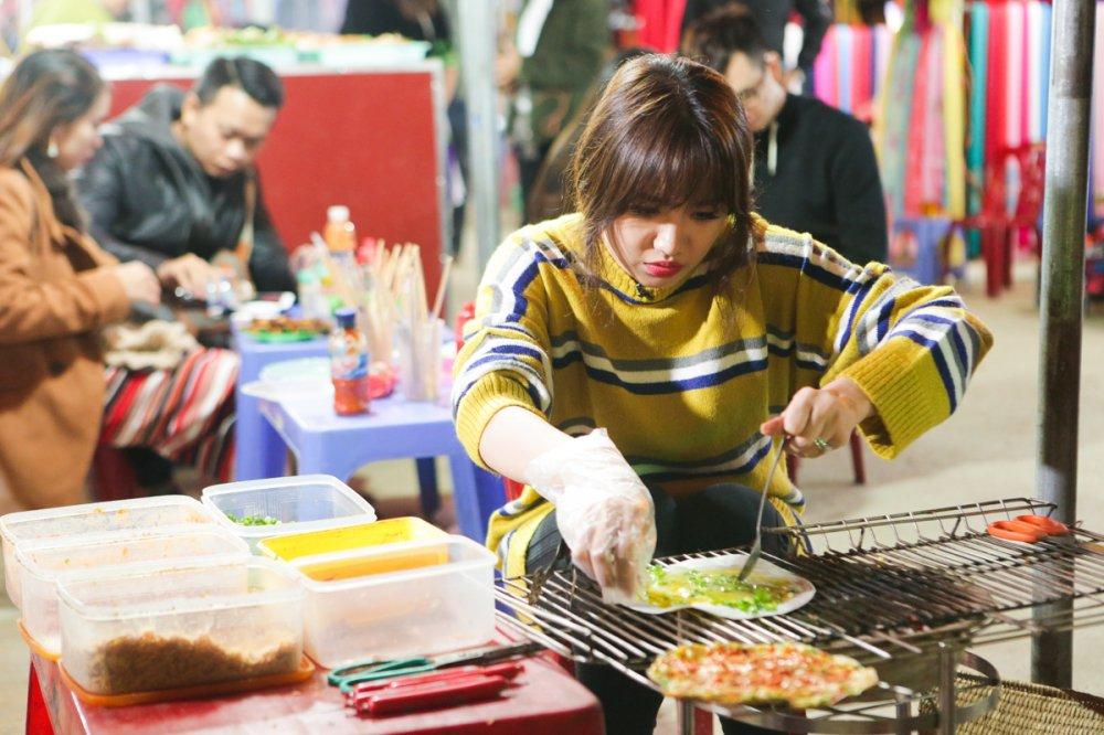 Hari Won 'tron chong', mac ao doi cung ban than Tran Thanh du lich Sapa hinh anh 8