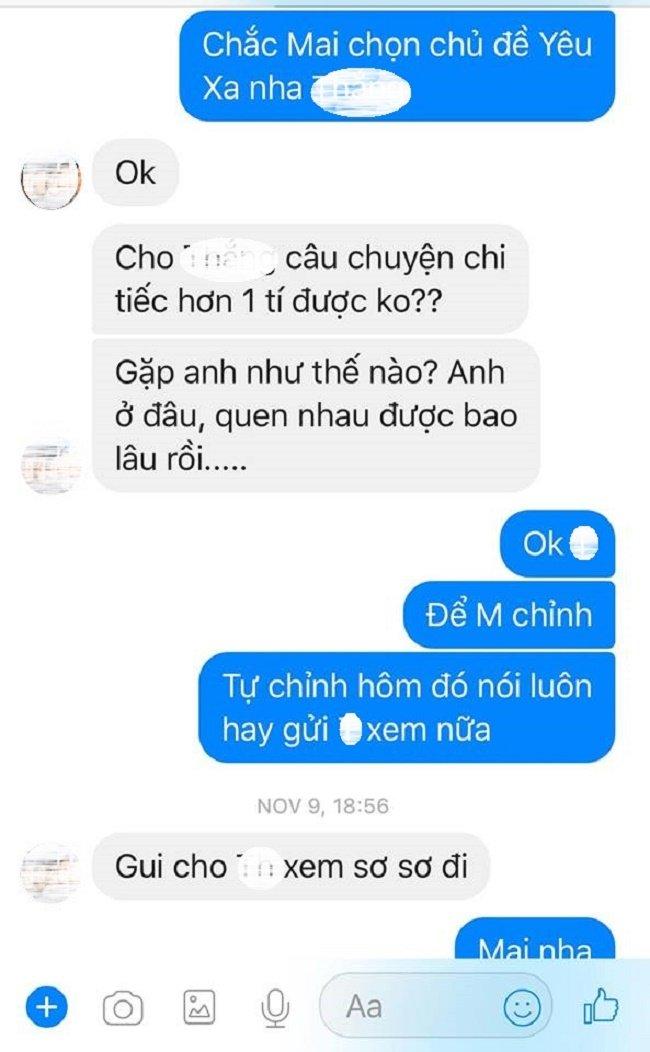 Mai Ho buc xuc, 'to' chuong trinh cat ghep chia se ve Tran Thanh gay hieu nham hinh anh 2