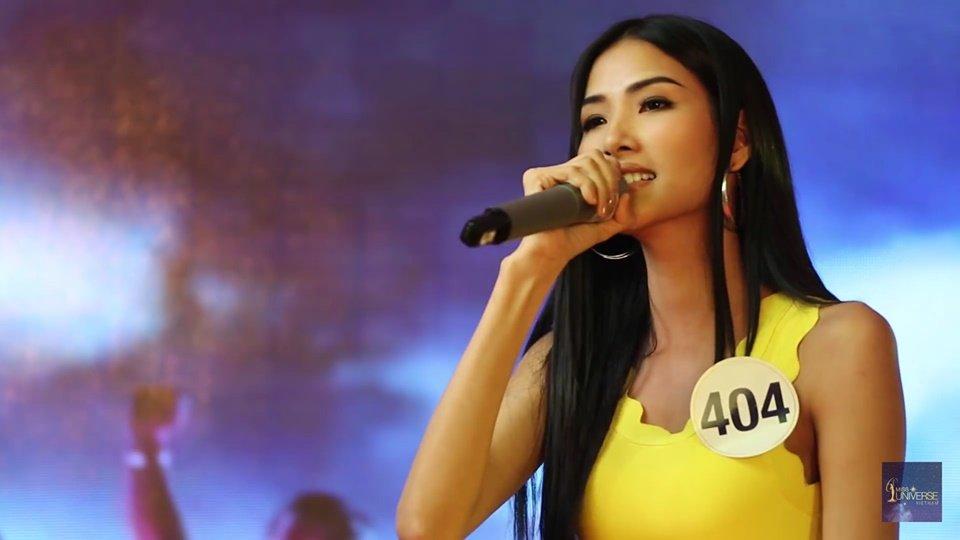 Phan thi tai nang cua Hoang Thuy tai 'Hoa hau Hoan vu' gay that vong, Mau Thuy lot top 15 hinh anh 1