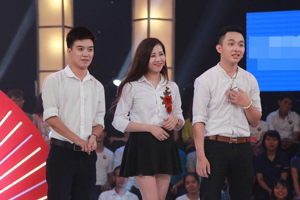 Truong Giang, Tran Thanh 'het hon' voi thi sinh dan ca tinh moi cua nguoi yeu cu di thi hinh anh 1