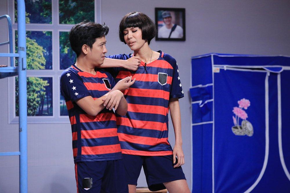 Minh Tu van xin Tran Thanh de duoc cuoi Truong Giang hinh anh 1