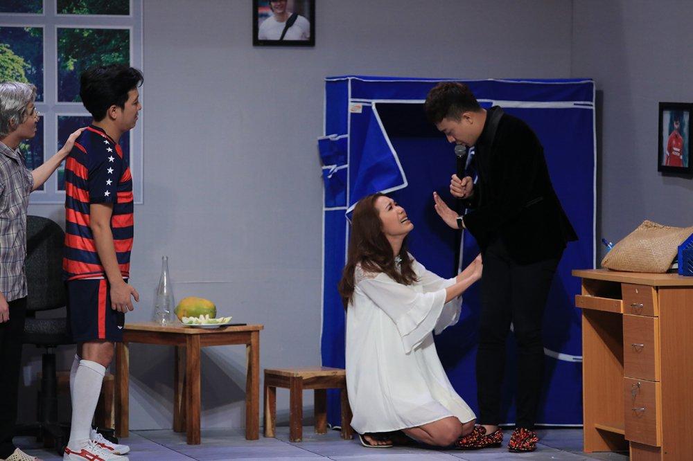 Minh Tu van xin Tran Thanh de duoc cuoi Truong Giang hinh anh 3