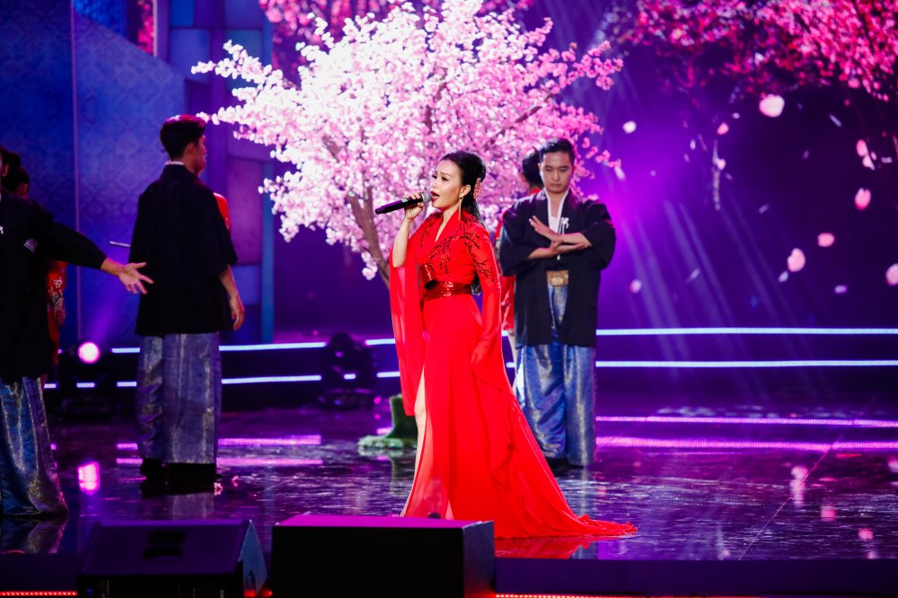 Quang Le song ca 'Chieu mua bien gioi' an y cung Le Quyen trong liveshow 6 ty dong hinh anh 6