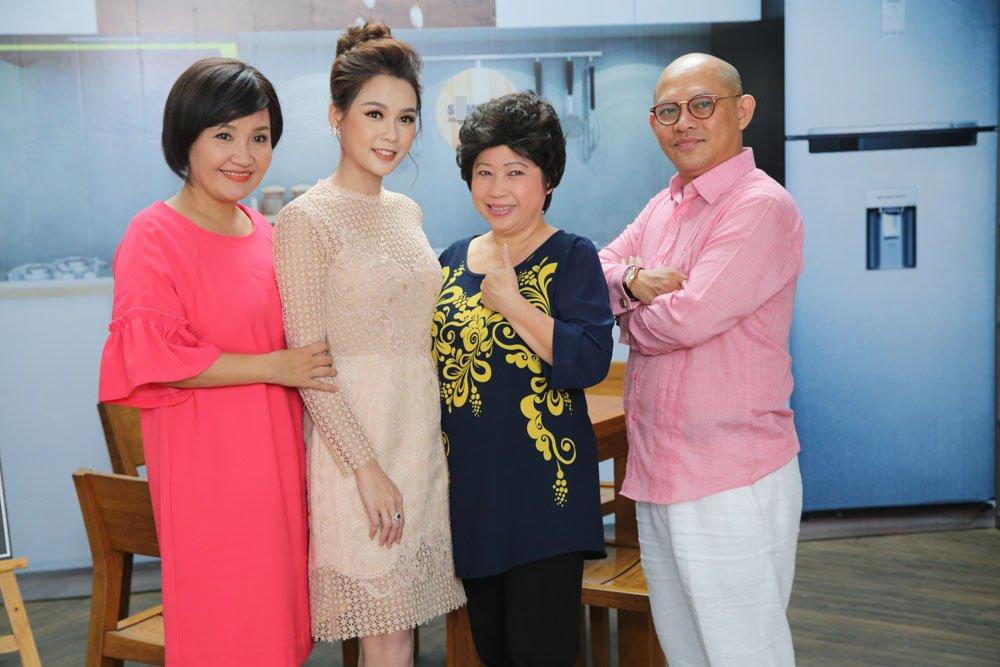 Vo chong Ngoc Lan – Thanh Binh 'khau chien' du doi tren song truyen hinh hinh anh 5