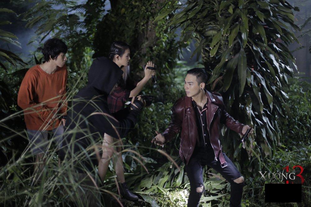 Tuan Tran cung dan dien vien 'dung tim' voi boi canh cua phim kinh di 'Xuong 13' hinh anh 6