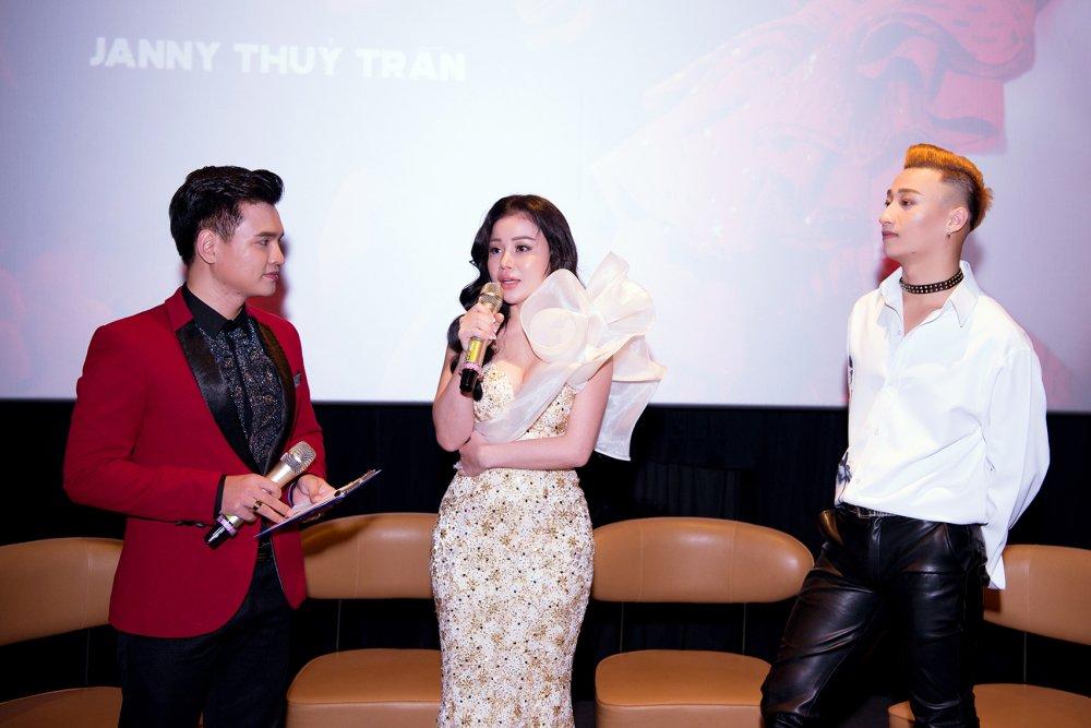 Hoa hau Janny Thuy Tran bi thuong khap nguoi khi quay MV cung Tang Nhat Tue hinh anh 4