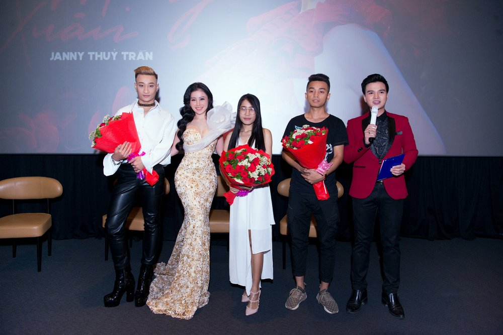 Hoa hau Janny Thuy Tran bi thuong khap nguoi khi quay MV cung Tang Nhat Tue hinh anh 5