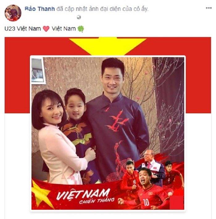 Mr. Dam 'quay' tung bung, sao Viet dong loat doi anh dai dien co vu U23 Viet Nam hinh anh 8