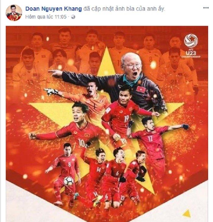 Mr. Dam 'quay' tung bung, sao Viet dong loat doi anh dai dien co vu U23 Viet Nam hinh anh 6