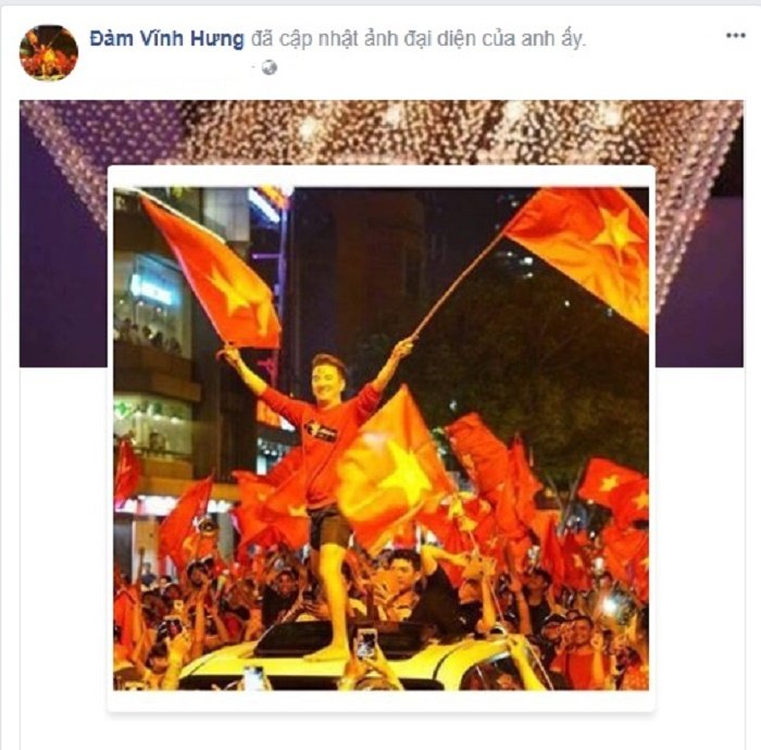 Mr. Dam 'quay' tung bung, sao Viet dong loat doi anh dai dien co vu U23 Viet Nam hinh anh 2
