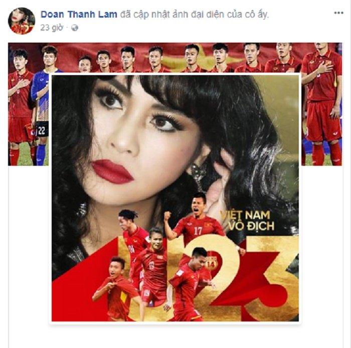 Mr. Dam 'quay' tung bung, sao Viet dong loat doi anh dai dien co vu U23 Viet Nam hinh anh 3