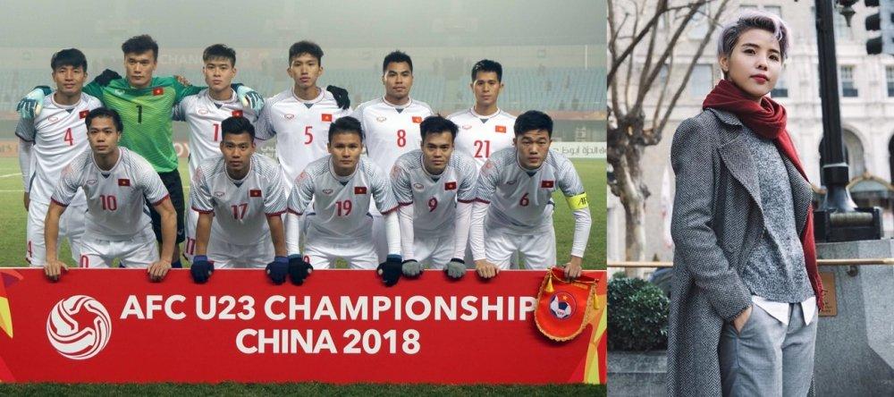 Ban ron luu dien, Vu Cat Tuong van sang tac ca khuc danh tang rieng U23 Viet Nam hinh anh 1