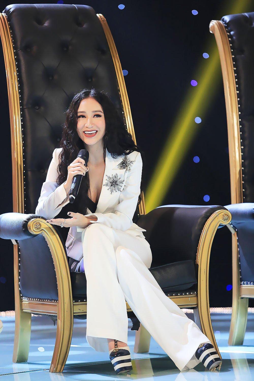 MC Ky Duyen lan dau lam giam khao chuong trinh am nhac hinh anh 3