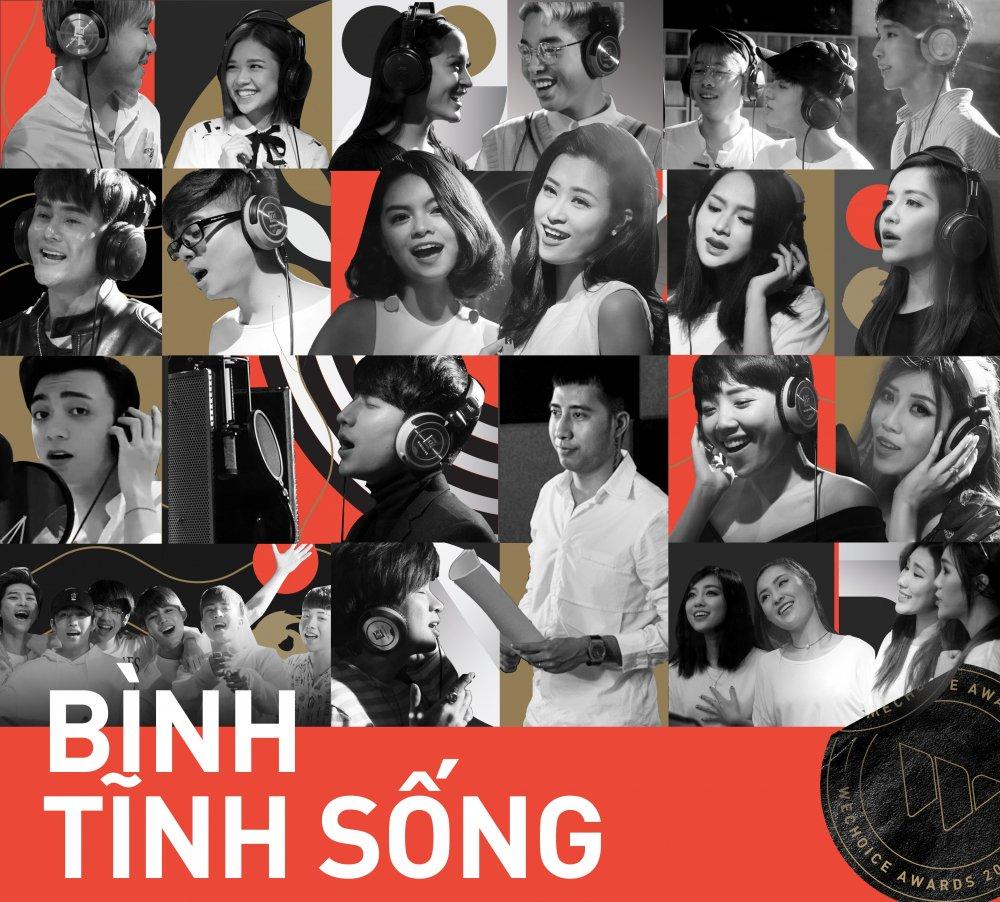 19 ca si, nhom nhac Viet dinh dam cung hoa giong 'Binh tinh song' hinh anh 1