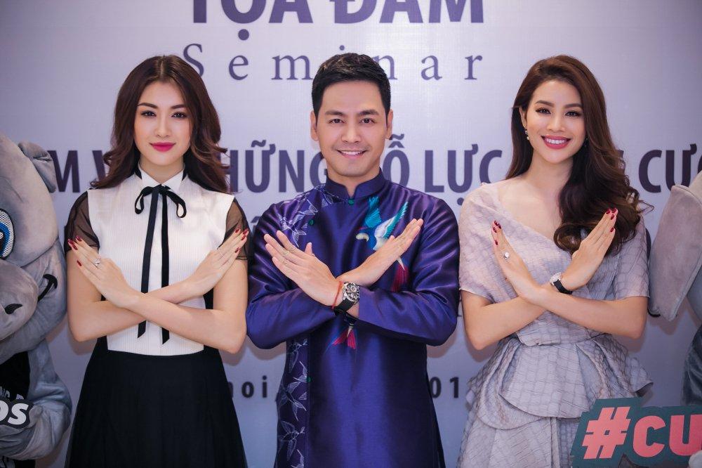 Le Hang hoi ngo MC Phan Anh, Pham Huong cung theo duoi chien dich bao ve dong vat hinh anh 1