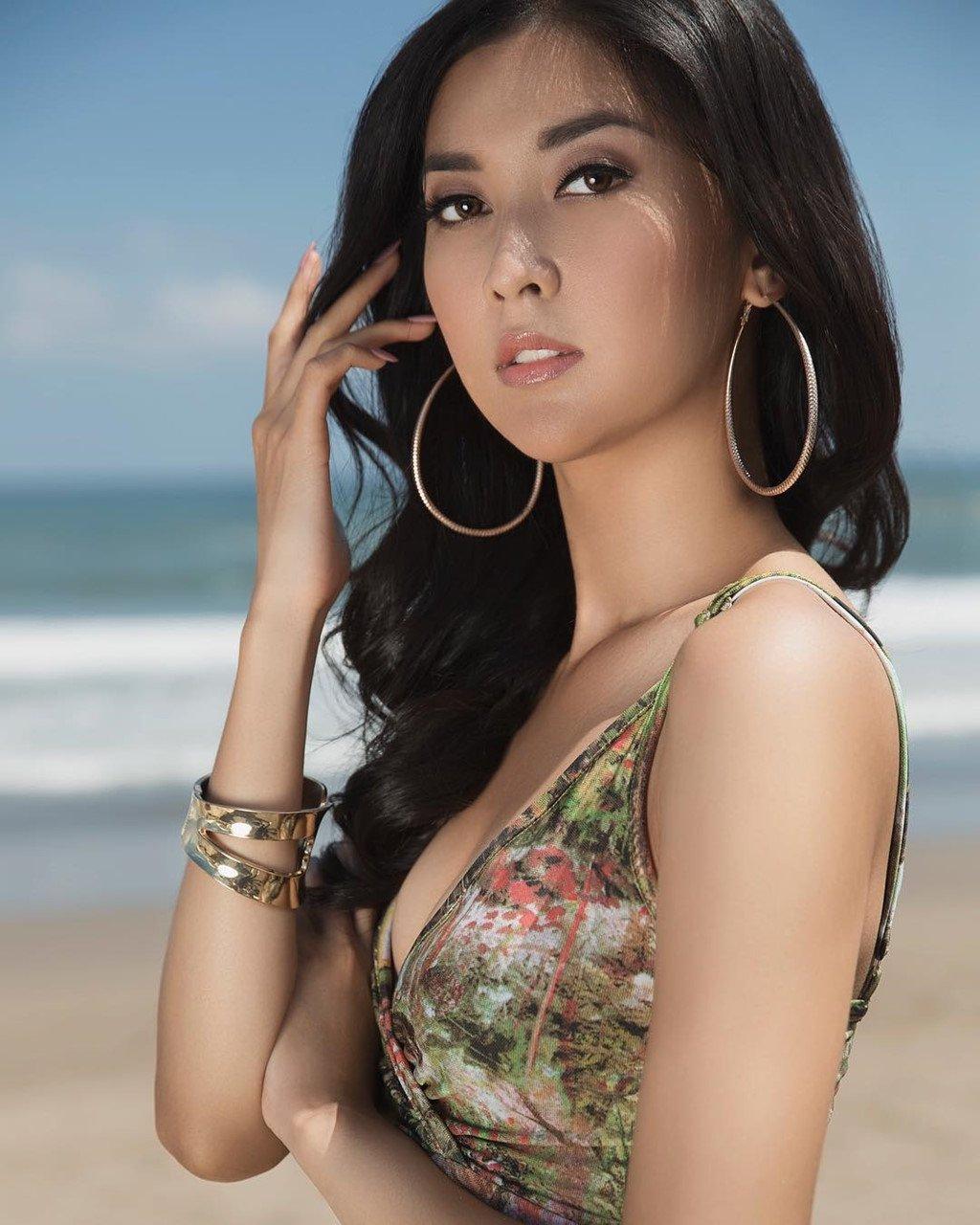 Duong kim Hoa hau Hoan vu la Hoa hau dep nhat 2017 hinh anh 6