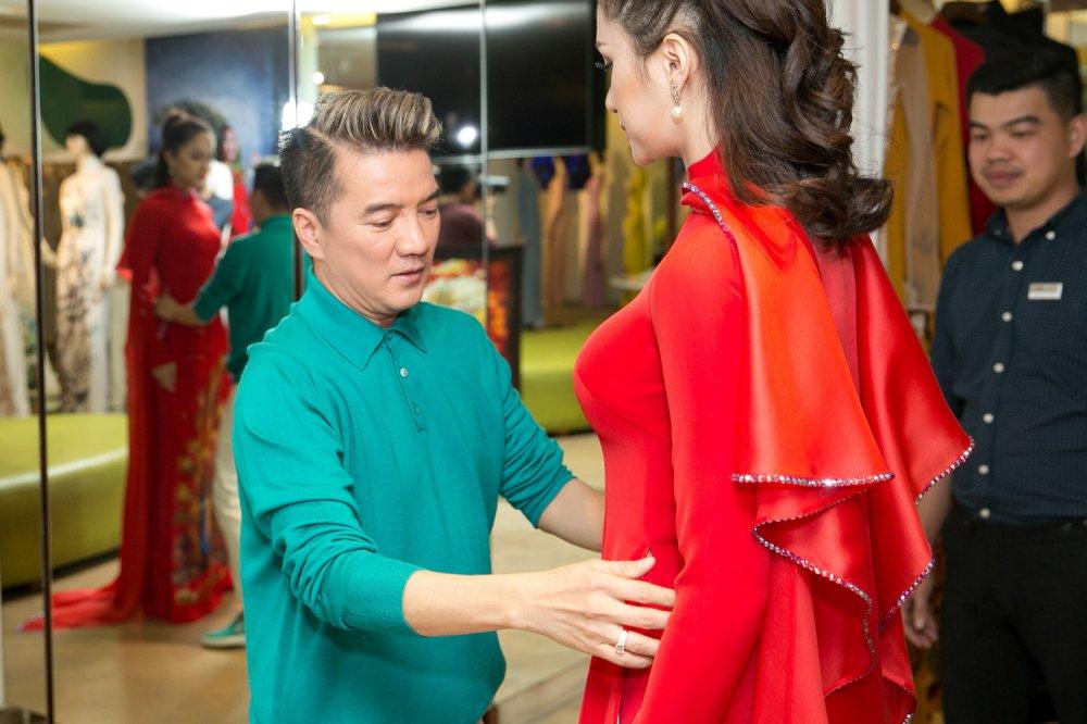 Day la cach Dam Vinh Hung ung ho Huong Giang Idol di thi Hoa hau hinh anh 3