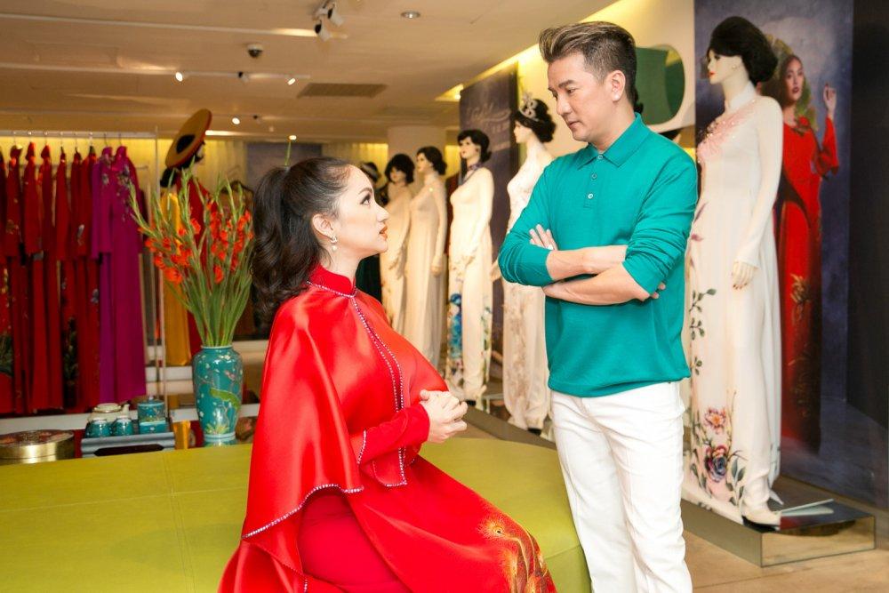 Day la cach Dam Vinh Hung ung ho Huong Giang Idol di thi Hoa hau hinh anh 1