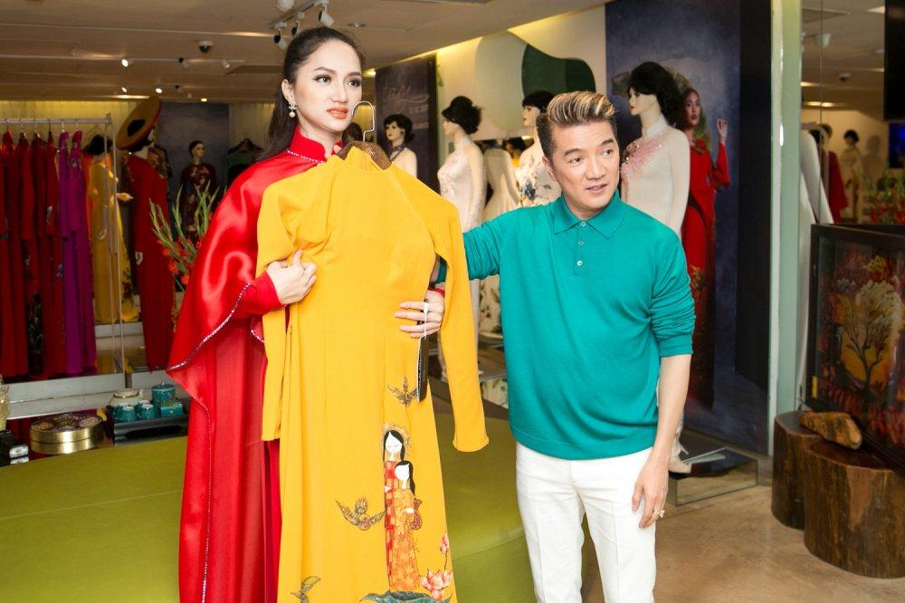 Day la cach Dam Vinh Hung ung ho Huong Giang Idol di thi Hoa hau hinh anh 7