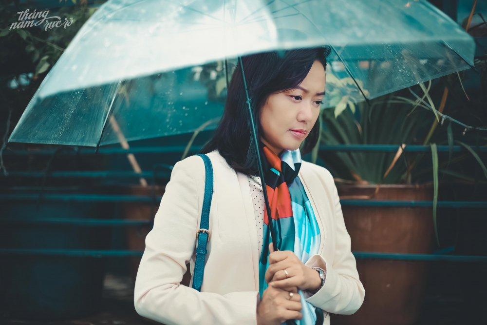 Khong doc truoc kich ban, Hong Anh van nhan loi dong phim cua Dung 'khung' hinh anh 1