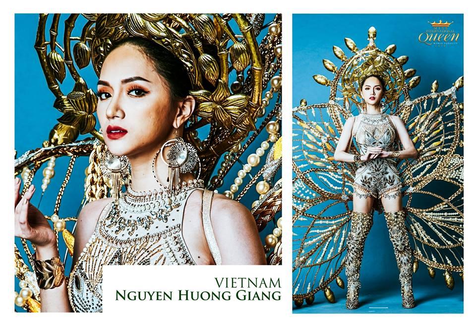 Huong Giang bo xa chu nha Thai Lan, dan dau binh chon Trang phuc dan toc hinh anh 1